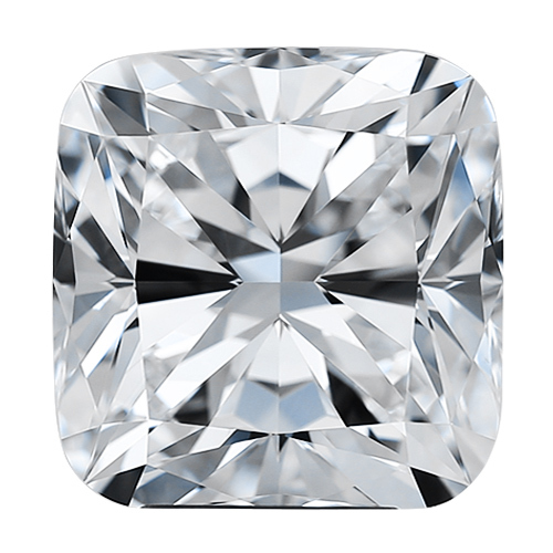 Cushion 5.5 mm Forever One Moissanite Gemstone