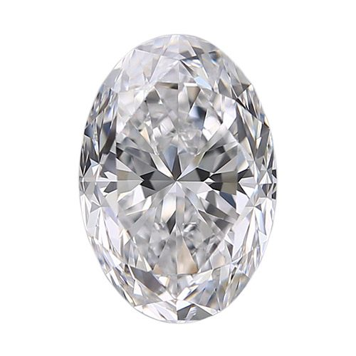 0.35 Carat Oval Loose Diamond, H, VS2, Super Ideal, GIA Certified