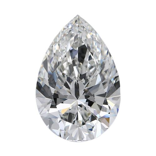 1.01 Carat Pear Loose Diamond, H, SI1, Super Ideal, GIA Certified | Thumbnail