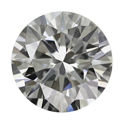 0.50 Carat Round Loose Diamond, E, VVS1, Excellent, GIA Certified