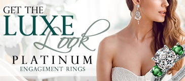 Get the Luxe Look: Platinum Engagement Rings