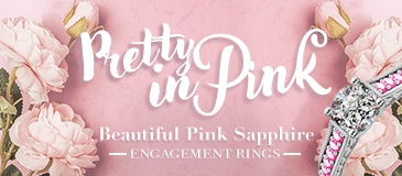 Pretty in Pink: Beautiful Pink Sapphire Engagement Rings