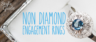 Style Guide for Non-Diamond Engagement Rings