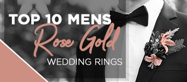 Top Ten Men's Rose Gold Wedding Rings