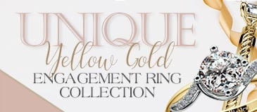 Unique Yellow Gold Engagement Ring Collection