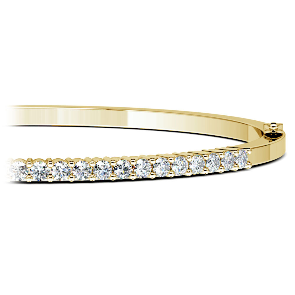weight gold ring total bracelet eternity karat diamond products with carat white band the