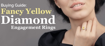 A Guide to Yellow Diamond Engagement Rings