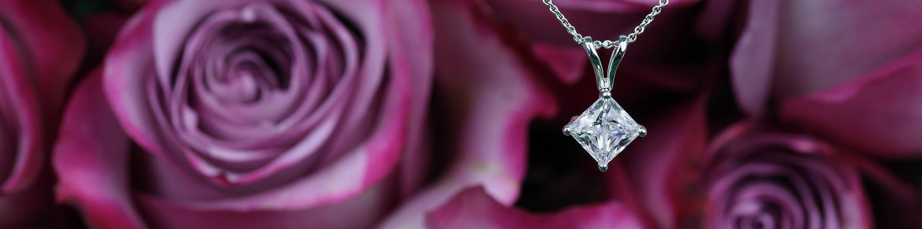 Diamond solitaire pendants brilliance mozeypictures Choice Image