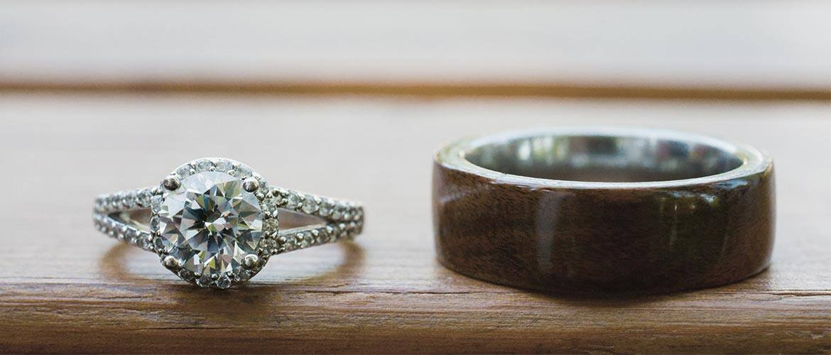 the process of customizing your wedding ring