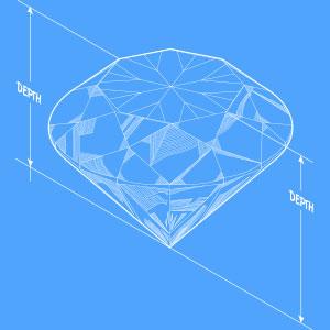 round cut loose diamond
