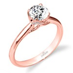 Blossom Diamond Engagement Ring in Rose Gold by Parade | Thumbnail 01