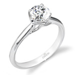 Blossom Diamond Engagement Ring in White Gold by Parade | Thumbnail 01
