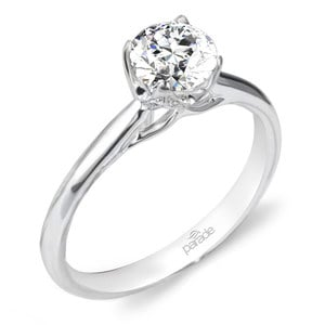 Blossom Diamond Engagement Ring in White Gold by Parade