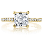 Diamond Encrusted Pave Engagement Ring in Yellow Gold by Parade | Thumbnail 02