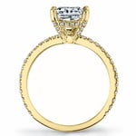 Diamond Encrusted Pave Engagement Ring in Yellow Gold by Parade | Thumbnail 03