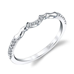 Matching Classic Bridal Diamond Wedding Ring in White Gold by Parade