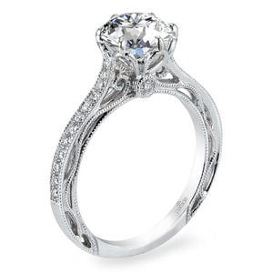 Hera Vintage Cathedral Diamond Engagement Ring By Parade