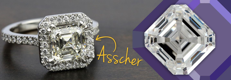 Diamond Shape: Asscher Cut