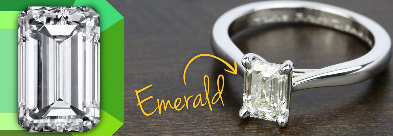 Diamond Shape: Emerald Cut