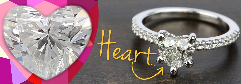 Diamond Shape: Heart Cut