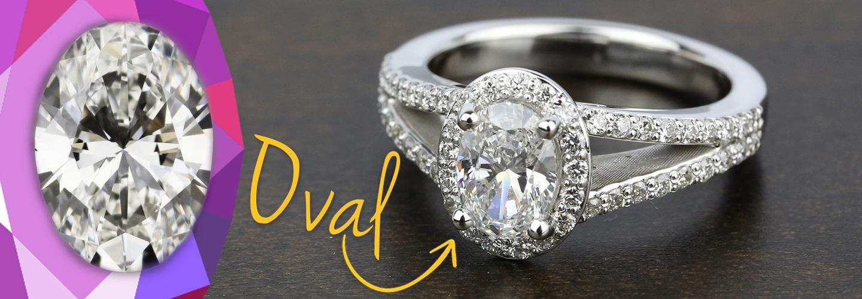 Diamond Shape: Oval Cut