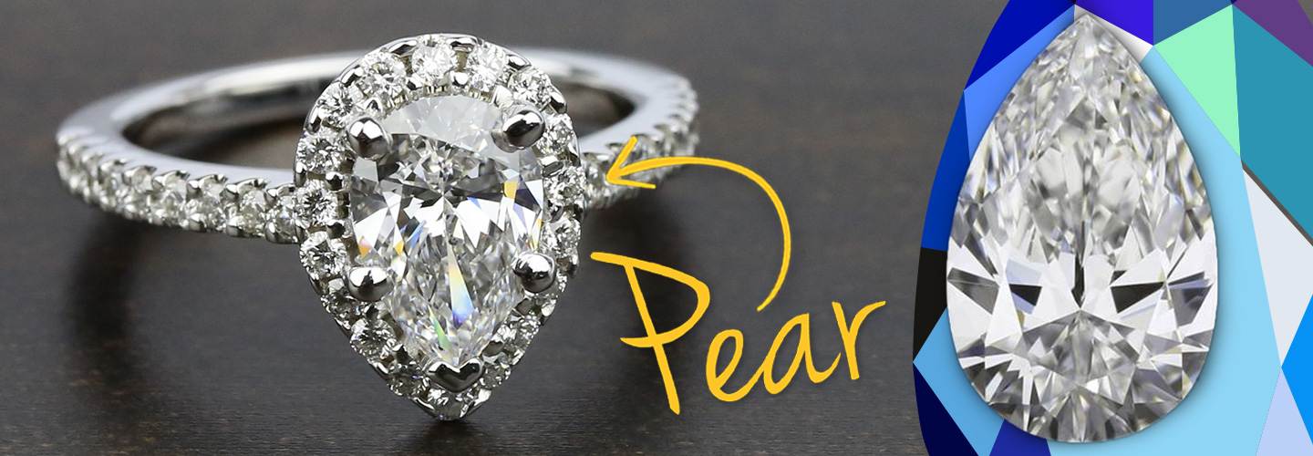 Diamond Shape: Pear Cut