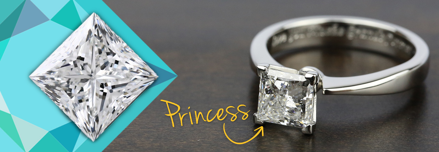Diamond Shape: Princess Cut