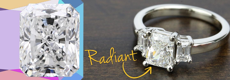 Diamond Shape: Radiant Cut