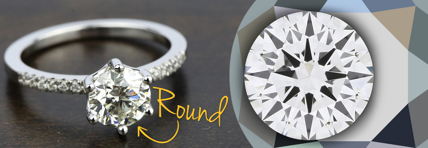 Diamond Shape: Round Cut
