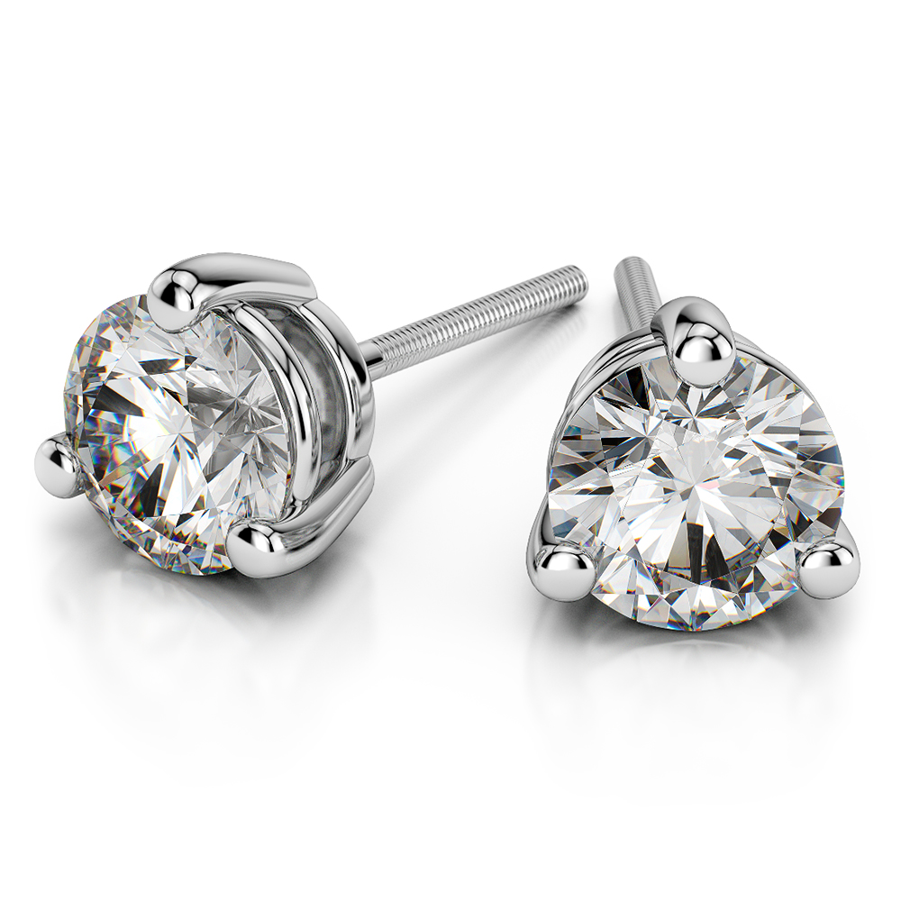 prong today stud free watches tdw jewelry platinum martini screw k auriya product earrings shipping diamond round overstock back j