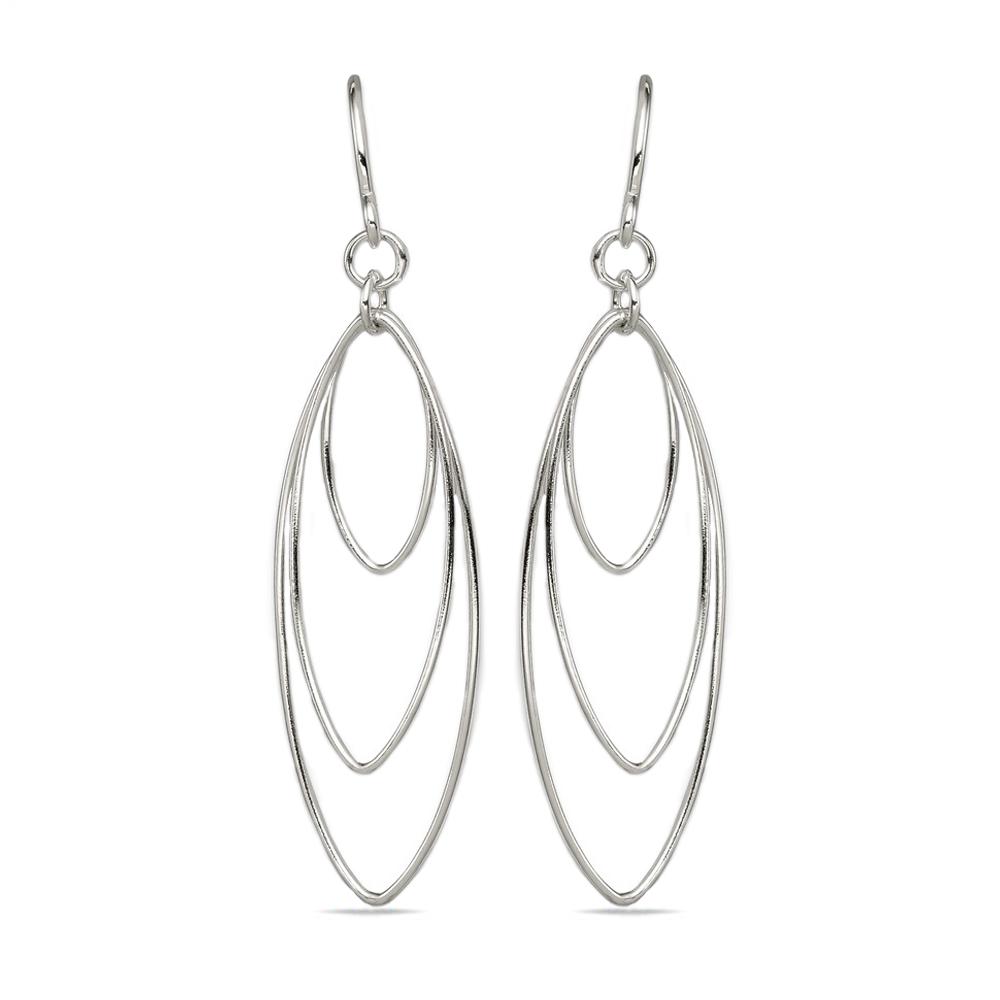 Bright Beaded Thin Silver Hoops Silver Hoop Earrings Silver Hoops wPearl Dangles Thin Medium Silver Hoops wColorful Glass Pearl Dangles