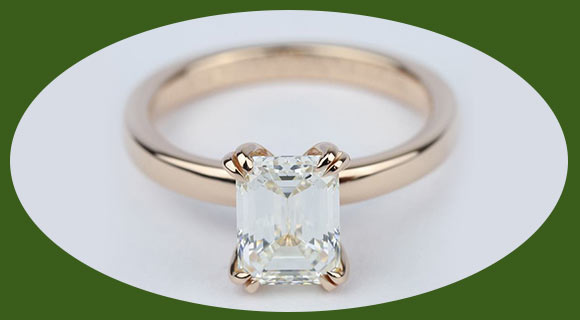 art deco oval diamond engagement ring