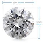 1.2 MM Round Diamond, Luxury Melee Diamonds   Thumbnail 02