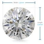 1.3 MM Round Diamond, Premium Melee Diamonds | Thumbnail 02
