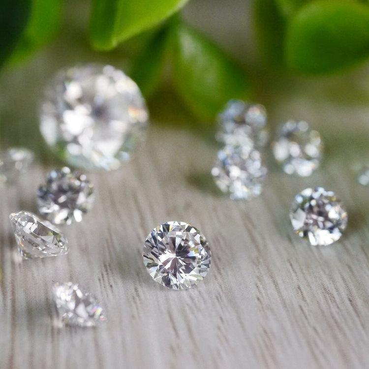 1 MM Round Diamond, Value Melee Diamonds   03