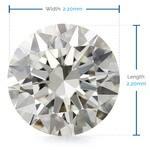2.2 MM Round Diamond, Value Melee Diamonds   Thumbnail 02