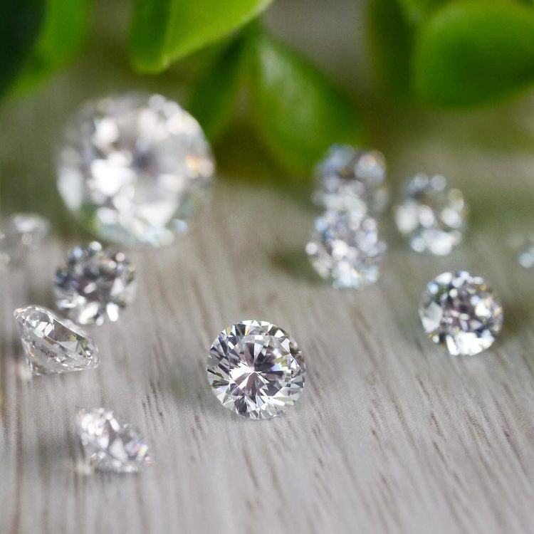 2.2 MM Round Diamond, Value Melee Diamonds   03