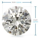 2.50 MM Round Diamond, Value Melee Diamonds | Thumbnail 02
