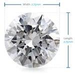 2.75 MM Round Diamond, Luxury Melee Diamonds   Thumbnail 02