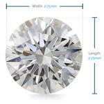2.75 MM Round Diamond, Premium Melee Diamonds | Thumbnail 02