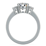 Oval Diamond Engagement Ring in Platinum (1/2 ctw) | Thumbnail 02