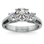 Round Diamond Engagement Ring in Platinum (1/2 ctw) | Thumbnail 01