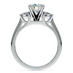 Round Diamond Engagement Ring in Platinum (1/2 ctw) | Thumbnail 02