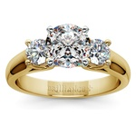 Round Diamond Engagement Ring in Yellow Gold (1/2 ctw) | Thumbnail 01