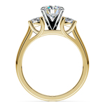 Round Diamond Engagement Ring in Yellow Gold (1/2 ctw) | Thumbnail 02