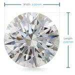 2 MM Round Diamond, Premium Melee Diamonds | Thumbnail 02