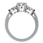 Marquise Diamond Engagement Ring in Platinum (1/3 ctw) | Thumbnail 02