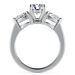 Pear Diamond Engagement Ring in Platinum (3/4 ctw) | Thumbnail 02