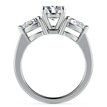 Pear Diamond Engagement Ring in White Gold (3/4 ctw) | Thumbnail 02