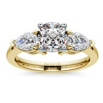 Pear Diamond Engagement Ring in Yellow Gold (3/4 ctw) | Thumbnail 01